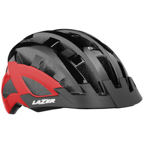 Lazer Compact Deluxe Casque, black-red